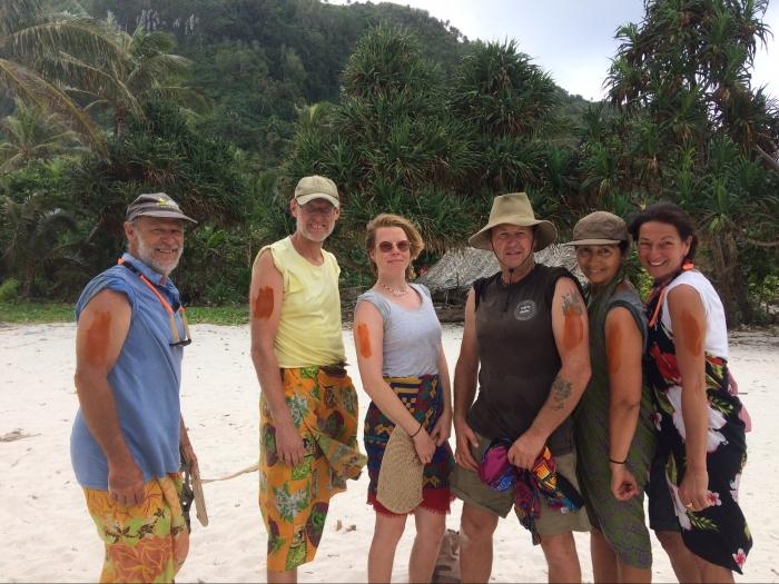 Second Tikopia expedition crew 2018